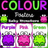 Color / Colour Posters - Monsters