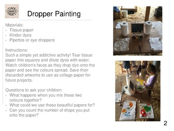 Colour and Pattern Activities