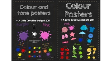 Colour and tone posters- bundle pack