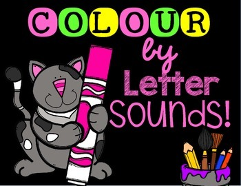 Colour by Letter Sounds! Beginning, Middle & Ending!