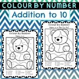 Colour by Number Addition to 10