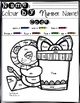 Colour by Number Name! Picture Edition FREEBIE