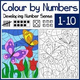 Colour by Numbers - Developing Number Sense for numbers 1-