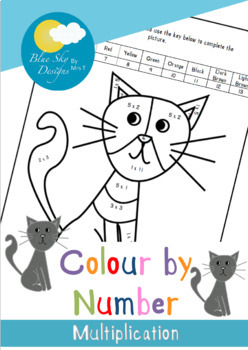 Colour by Numbers: Multiplication
