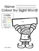 Colour by Sight Word: Second Grade Winter Edition