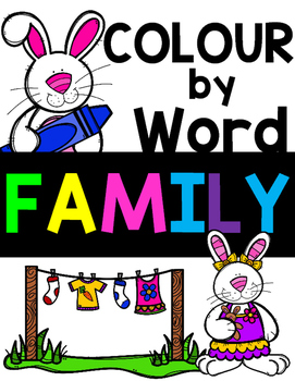Colour by Word Family!