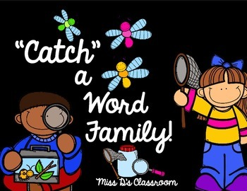 """""""Catch"""" a Word Family!"""
