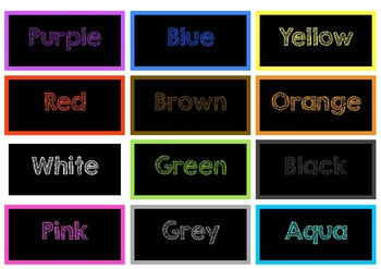Colour display