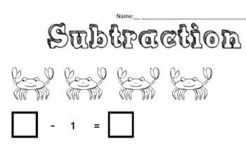 Colour-in Subtraction