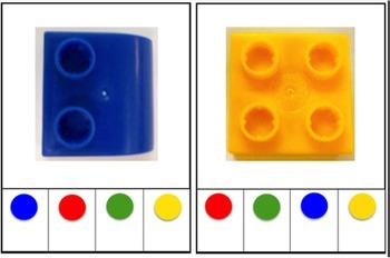 Colour matching (Duplo) / Pas die kleur