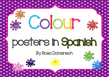 Colour posters in Spanish