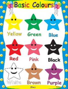 Colors- Star shaped colors