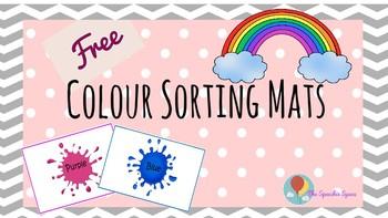 Colour sorting mats