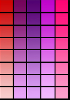 Colour / Color Matching Activity: Building visual determination skills