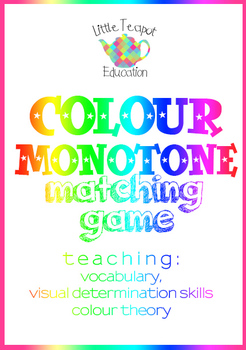 Colour / Color Matching Activity: Building visual determin