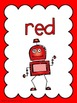 Colour/Color Posters: Robot Theme
