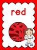 Colour/Color Posters: Space Kids Theme