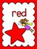 Colour/Color Posters: Super Hero Kids Theme