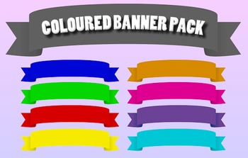 Coloured Banner Pack
