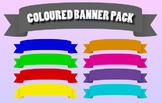 Coloured Banner Pack