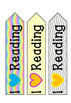 Coloured Bookmarks
