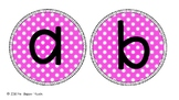 Display Letters Coloured- Bulletin Board Letters