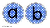 Coloured Display Letters - Bulletin Board Letters