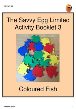Coloured Fish Booklet