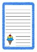 Coloured Ice Creams Worksheets