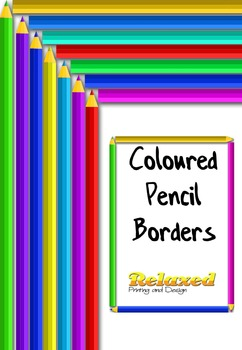 Coloured Pencil Borders