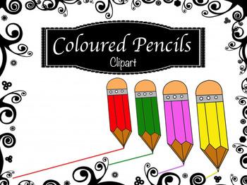 Coloured Pencils Clipart