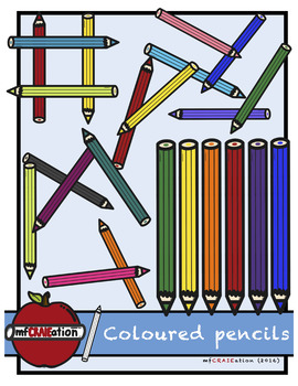 Coloured pencils ClipArt