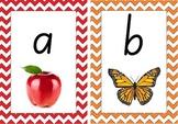 Colourful Australian Alphabet Display (NSW foundation font) Chevron