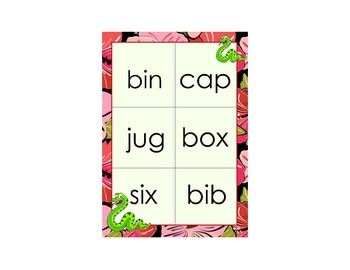 10 Different Colourful Bingo Board Games with Matching Flashcards