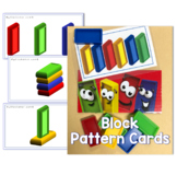 Colourful Blocks: Pattern Cards