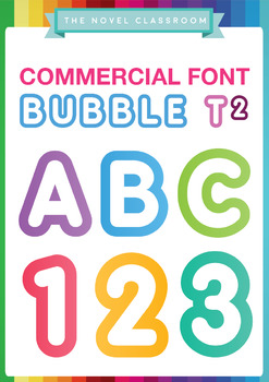 Bubble Font - Personal & Full Commercial Licence