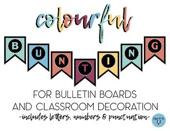 Colourful Bulletin Board Banner