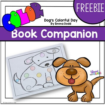 Dog's Colorful Day Freebie