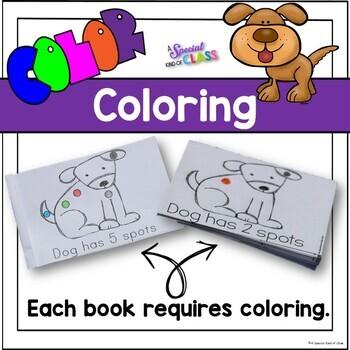 Colourful Dog Mini-Books