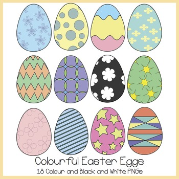 Colourful Easter Egg Clipart