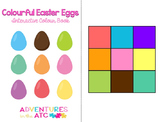 Colourful Eggs - An Interactive Easter Book