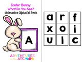 Easter Bunny, What Do You See - An Interactive Alphabet Book