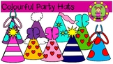 Colourful Party hats