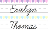 Colourful Pastel Bunting Labels {Editable}