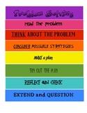 Colourful Problem Solving Process Handout