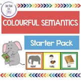 Colourful Semantics starter pack - EDITABLE COLOURS