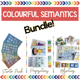 Colourful Semantics Bundle - Starter Pack, Prepositions &