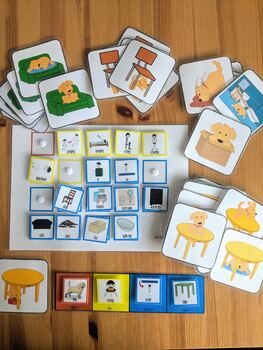 Colourful Semantics Extension Pack - Puppy Prepositions