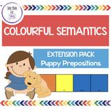 Colourful Semantics Extension Pack - Puppy Prepositions