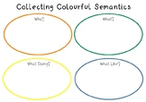 Colourful Semantics - Word Collecting & Sentence Collation - Graphic Organiser